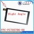 Nuevo 7 '' pulgadas Rectangular de la tableta digitalizadora pantalla FPC-FC70S706-00 FPC-FC70S706-01 Sensor del panel táctil de cristal envío gratis