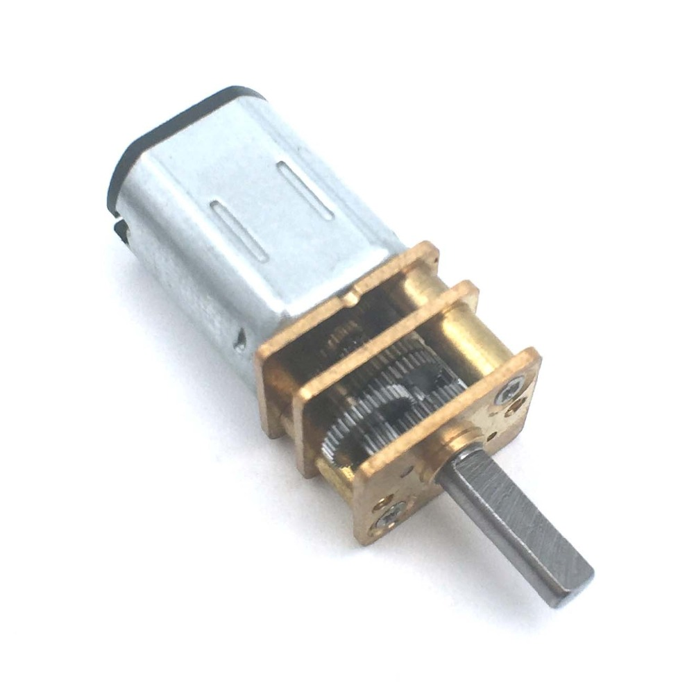 <font><b>DC</b></font> <font><b>12V</b></font> Mini Micro Speed Gear <font><b>Motor</b></font> 80-<font><b>6000RPM</b></font> N20 Reduction Gear <font><b>Motor</b></font> Electric Metal Gear Reducer <font><b>Motor</b></font> for Car Robot Model image
