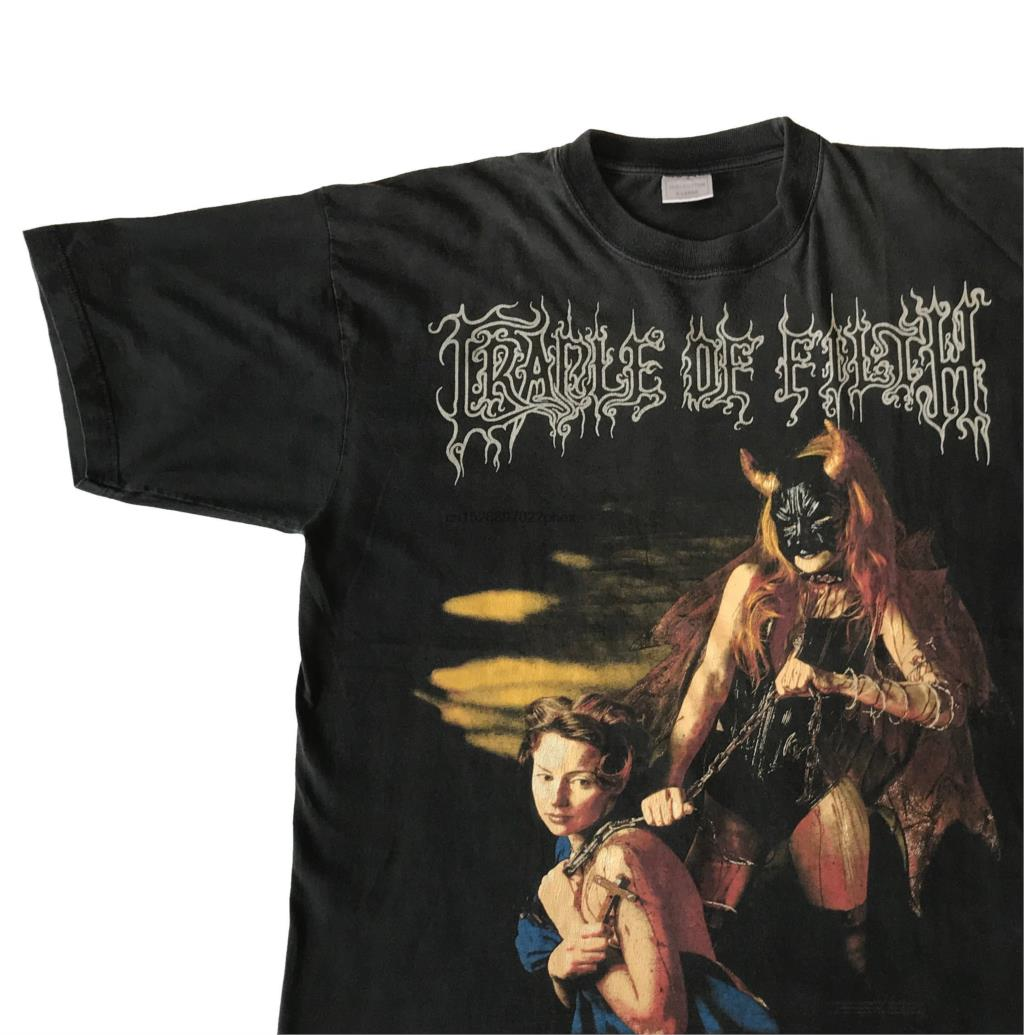 New Cradle of Filth British Metal Band Men/'s Black T-Shirt Size S to 3XL