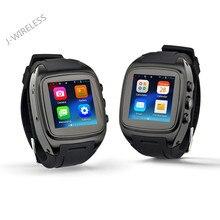 Klassischen Smart uhr Android telefon X01 Smartwatch Update version Hochwertigen X02 uhr android 4.4 mit Wifi Kamera 3G GPS