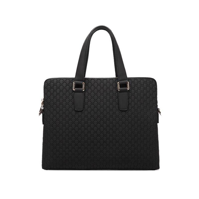 ФОТО New leather men handbag head layer cowhide men bag business package briefcase