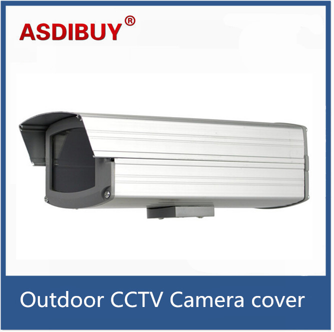 Small Waterproof Outdoor box CCTV Camera Housing cover, IP66 ,size 260(L)x240(W)x80(H)mm cctv camera housing metal cover case new ip66 outdoor use casing waterproof bullet for ip camera hot sale white color wistino