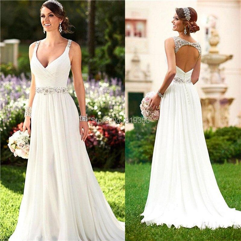 Vestido blanco de novia – Vestidos de moda de esta temporada