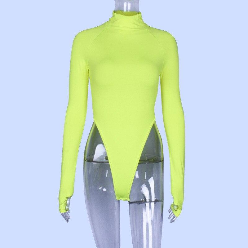 high neck long sleeve bodysuit women09
