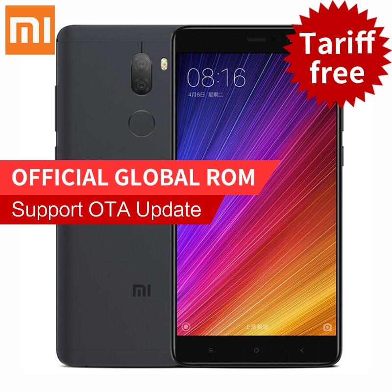 Original Xiaomi Mi5s Plus 4GB RAM 64GB ROM smartphone 5 7 Snapdragon 821 Mi 5s Plus