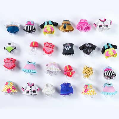 20 piezas para la serie original lol 4 niñas accesorios para crear tu propia muñeca vestido diferentes ropa juguetes para bebés niños regalos