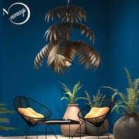 Loft art deco coconut baum anhänger licht LED E27 moderne kreative hängende lampe für wohnzimmer restaurant schlafzimmer lobby hotel bar