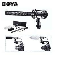 BOYA BY PVM1000 professional Condenser Shotgun camera interview microphone studio 3 pin XLR Output on DSLR Camera