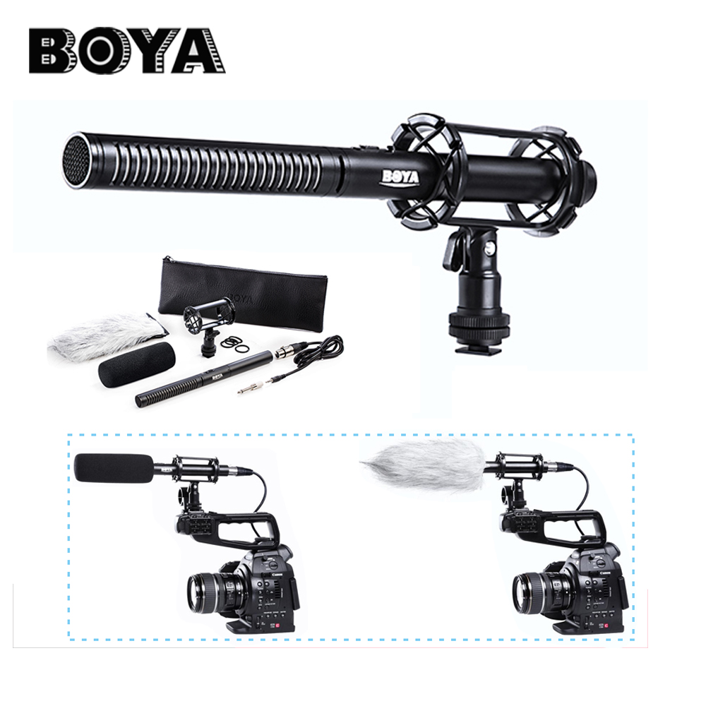 BOYA BY-PVM1000 professional Condenser Shotgun camera interview microphone studio 3-pin XLR Output on DSLR Camera стульчик для кормления selby 252 зеленый 0005602 05 page 2