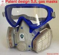 The New 2015 Hot Gas Comprehensive Cover Paint Chemical Masks Pesticide Gas Mask Dustproof Fire Escape