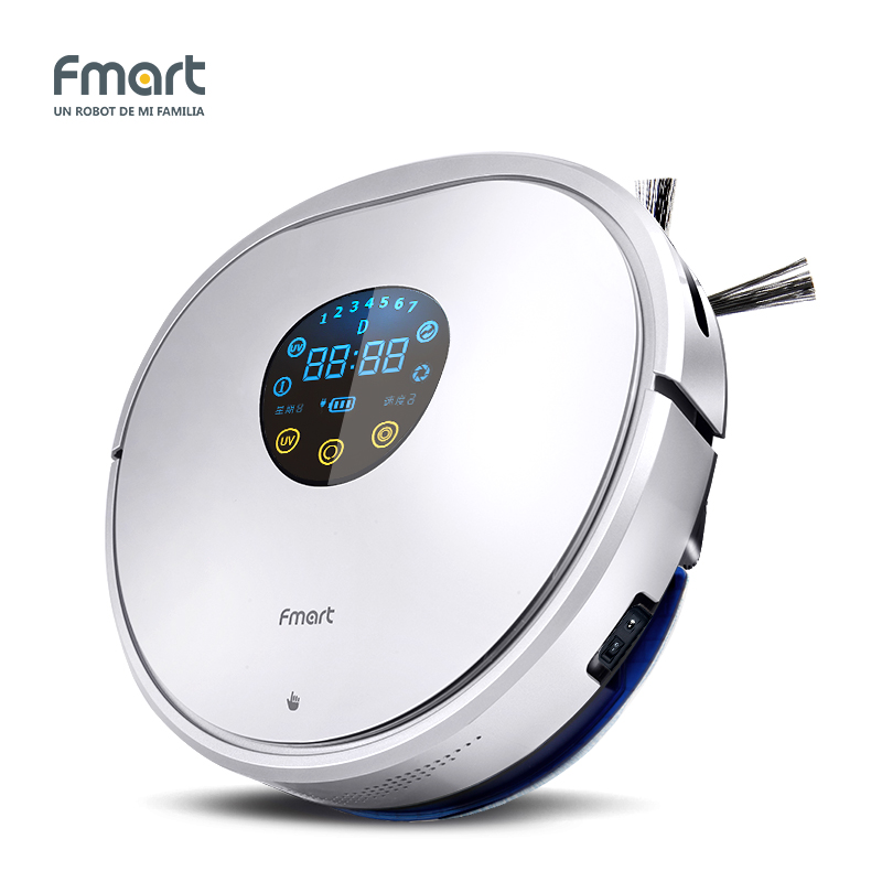 Fmart YZ-U1S Robot Vacuum Cleaner home cleaning UV Dust Sterilize With Self-Charge Remote Control Auto Cleaning Aspirator robot aspirador inteligente pieza de limpiar accesorios de serie littlekeeper yz u1s & yz v2