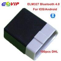 ELM327 V1 5 Bluetooth 4 0 Viecar VC100 OBD2 Diagnostic Tool Support SAE J1850 Android IOS