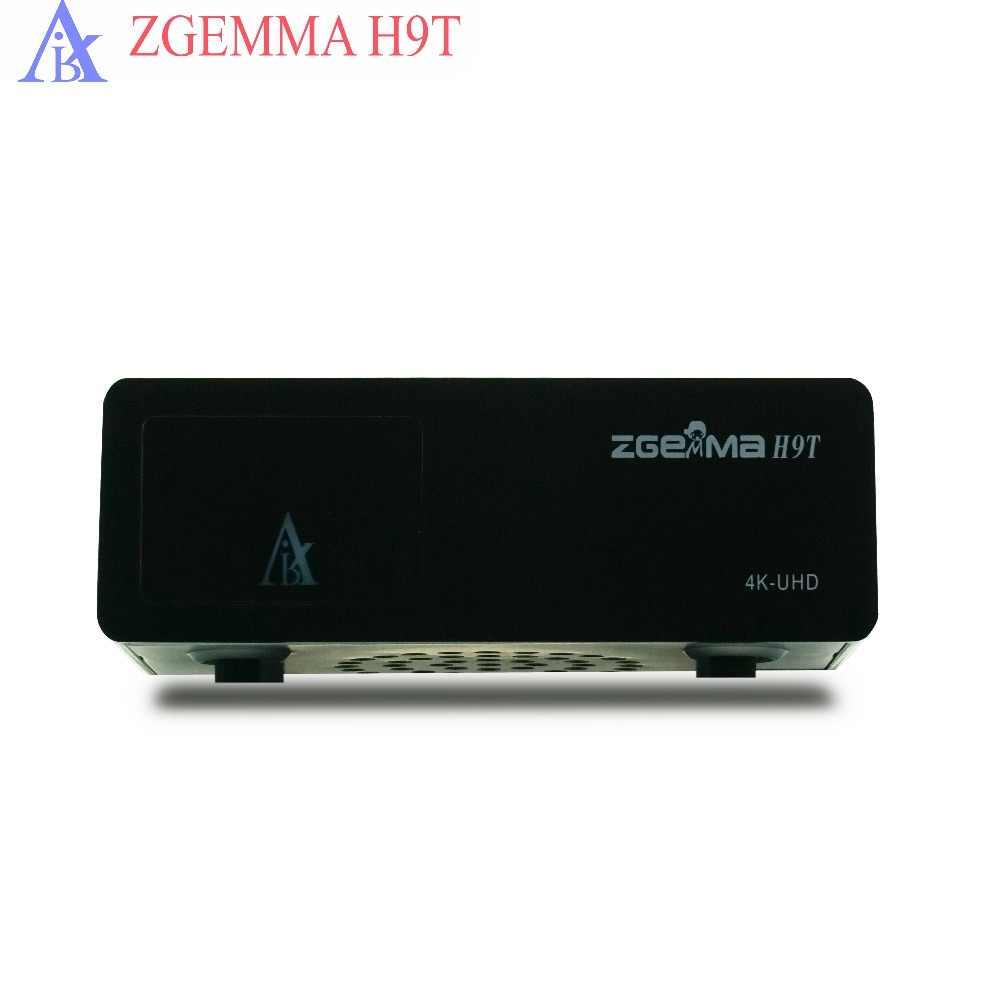 5 pcs/lot zgemma H9T smart tv box 4K UHD DVB T2 and IPTV middleware stalker