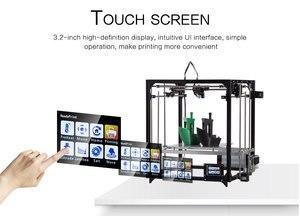 Image 2 - Flsun imprimante 3D mise à niveau 2019, double extrudeuse, impression grande taille 260x260x350mm, nivellement automatique, lit chauffant, TFT, Wifi
