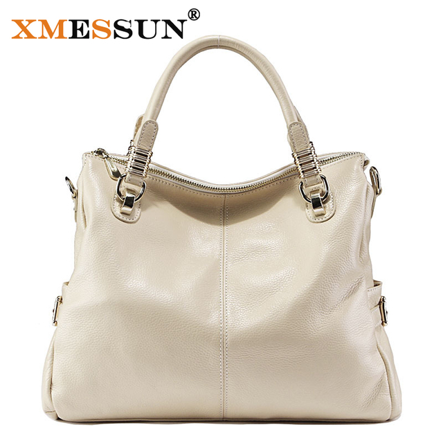 Xmessun Brand 100 Women Geniune Leather Bag Handbags Designer Shoulder Tote High Quality Real