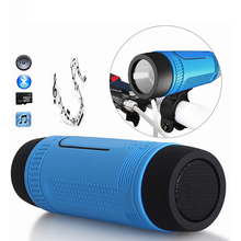 S1 Bluetooth Speaker Portable Subwoofer Power Bank Rechargeable with L