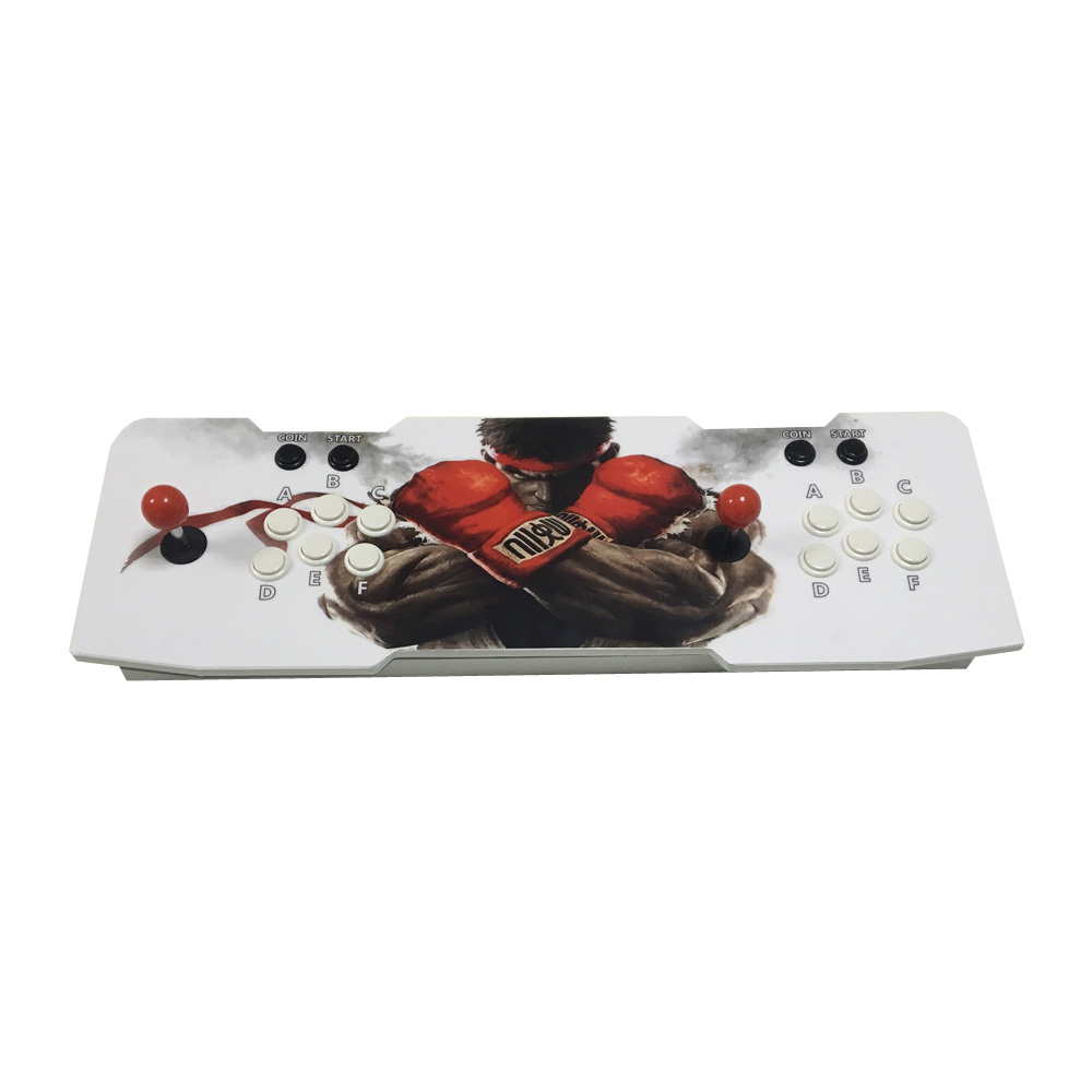 Arcade Controller Joystick Kit Pandora Box 4S HD 680 in 1 Multi Game Board Fight font online get cheap stick 2 player aliexpress com alibaba group  at bakdesigns.co