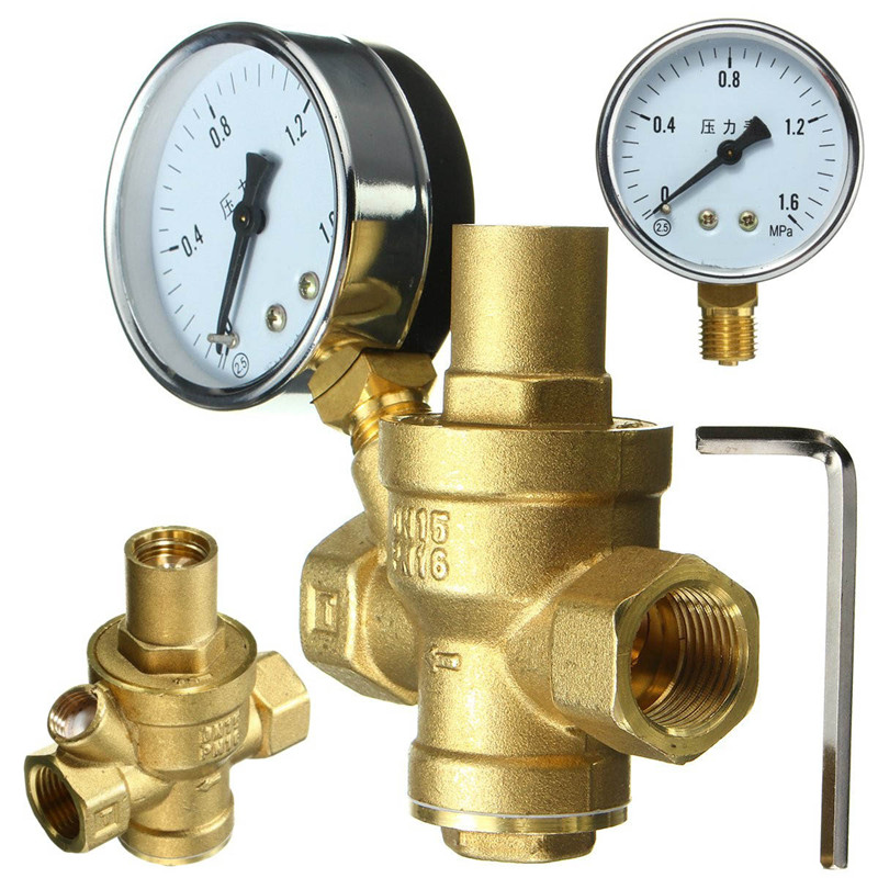 reducing valve with gauges regulating valve dn15 1 2 thread high quality reducing valve steam. Black Bedroom Furniture Sets. Home Design Ideas