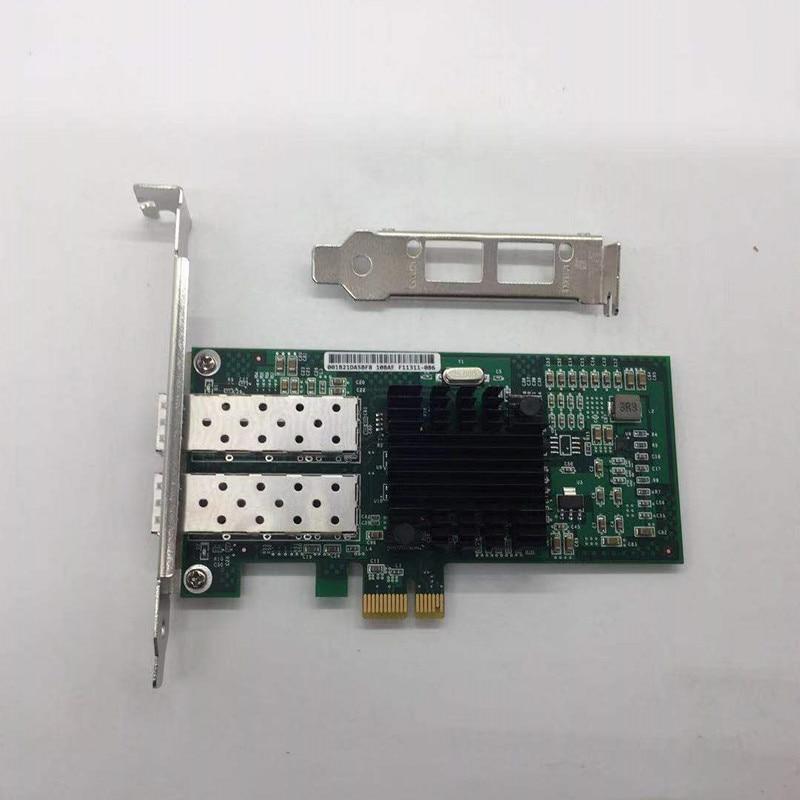 E1G42EF-SFP Dual Port SFP PCI-E X4 Fiber Server Adapter NIC 82576 Controller E1G42EF-SFP Dual Port SFP PCI-E X4 Fiber Server Adapter NIC 82576 Controller