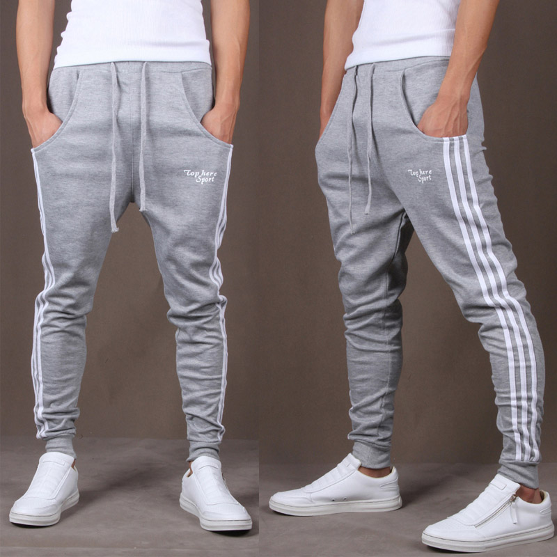 Workout Jogging Pants Men Striped Sport Sweatpants GYM Training Running Pants Men Fitness Joggers Bodybuilding Crossfit Trousers new gym sport pants men rashgard jogging pants fitness joggers running pants men sportswear sweatpants elastic training trousers