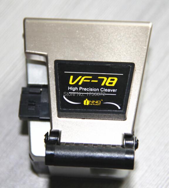 VF-78 Fibra de Alta Qualidade chinesa Cutelo Fibra Óptica de Alta Precisão Cleaver Cleaver Fiber Cortador