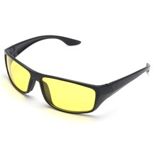 NEW Unisex Night Driving Glasses Anti Glare Vision Driver Safety Sunglasses Goggles Workplace Safety Eye Protection