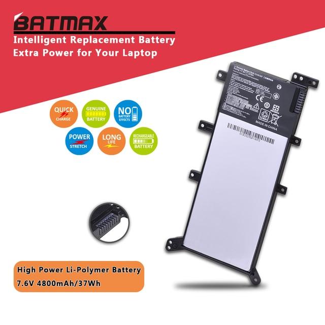 7.6 V 37Wh C21N1347 Laptop Bateria para ASUS X555 X555L X555LD X555L F555UA X555 F555UB Y583LD F555UJ F555UF K555L 2ICP4 /63/134