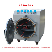 2000W 220V 110V 27 inch LY 969 auto air lock OCA LCD Air defoam Bubble Remove Machine for Mobile Phone