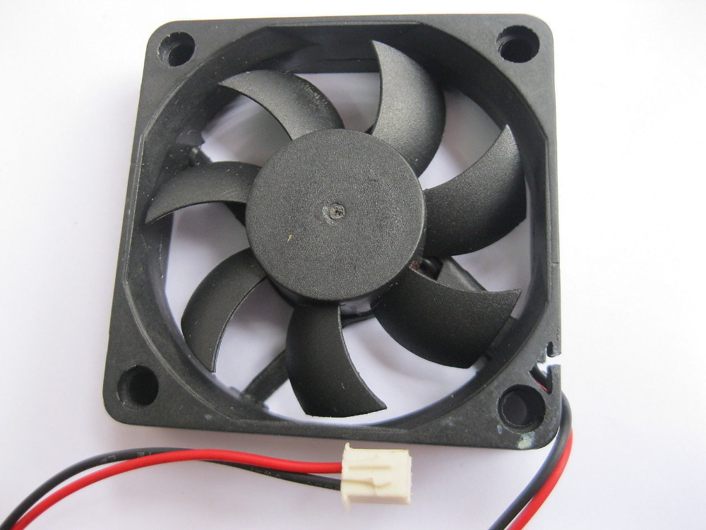 Das Beste 1 Stücke Bürstenlosen Dc Kühlung 7 Klinge Fan 6015 S 24 V 60x15mm Schwarz Baumaterialien