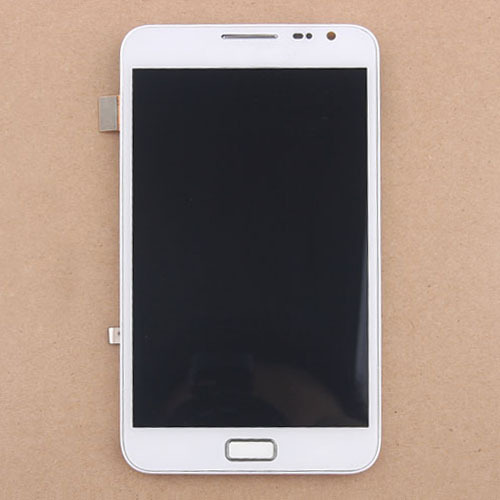 LCD Display Touch Screen Digitizer Assembly With Frame Bezel For Samsung Galaxy Note I9220 N7000 Free Shipping White elektrostandard настенный светильник elektrostandard taurus u малахит арт glxt 1458u 4690389065118