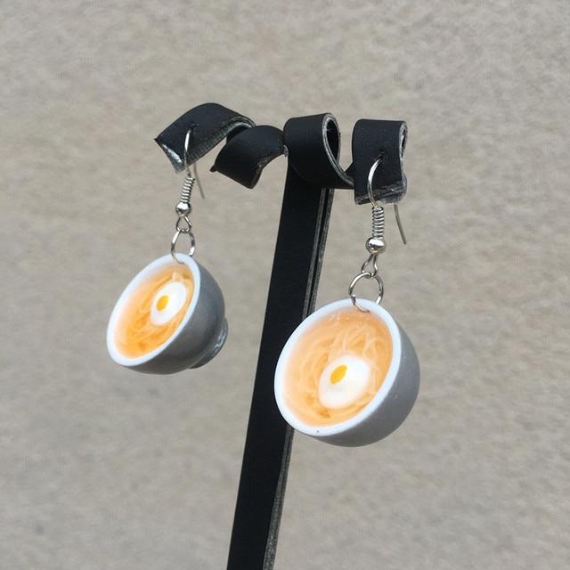 Egg Noodles Earrings 1
