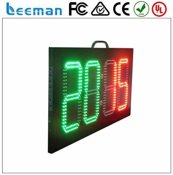 2018 2017 Leeman футбольный замещения доска --- светодиодный цифровой дисплей табло для спорта портативный светодиодный теннис табло