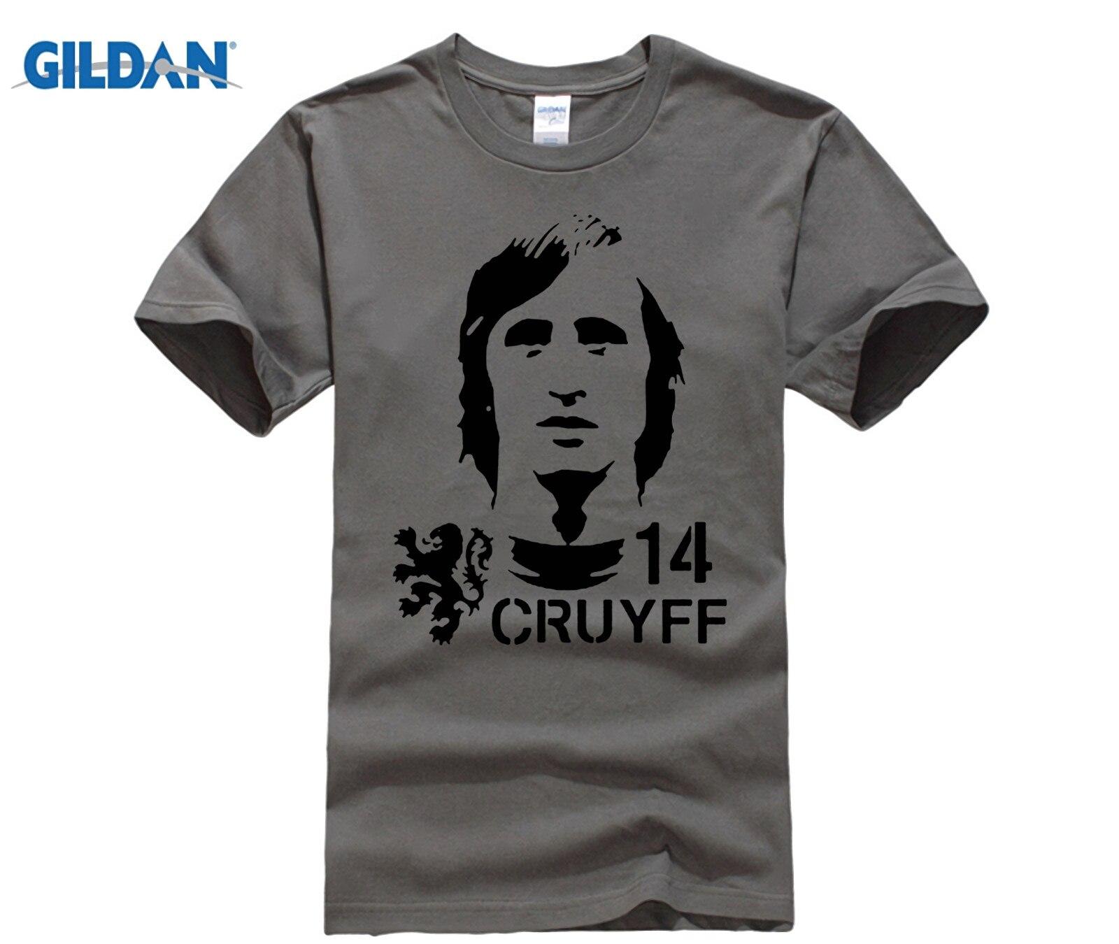 funny men t shirt Hendrik Johannes Cruyff Holland Nederland Ajax  The Godfather 100% cotton t shirt 2