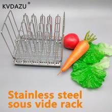 Sous Vide стеллаж из нержавеющей стали Sous Vide контейнеры для плиты съемные разделители сепаратор для погружных циркуляторов