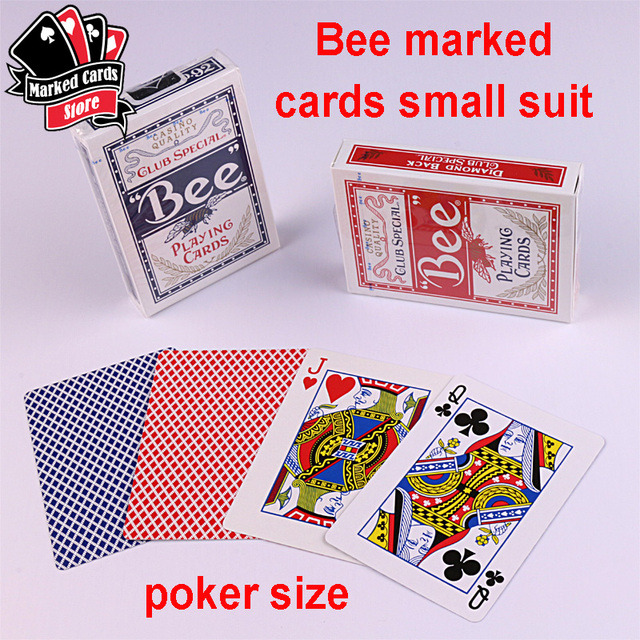 257cfba54aea 2 or 4 Decks USA Bee Playing Cards Marked With Luminous Invisible Ink Kit  GS Golden Sunshine Marked Cards Contact Lenses