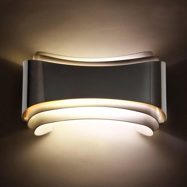 Moderne 5 Watt Led Wandleuchten Foyer Bett Esszimmer Wohnzimmer Lampe Bad Lichter Nachttischlampe Innenwand Lampen