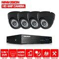 NINIVISION Hause CCTV Sicherheit Kamera System HD 4MP AHD DVR 4.0MP CCTV Kamera System 4 Kanal Video Überwachung Kit-in Überwachungssystem aus Sicherheit und Schutz bei