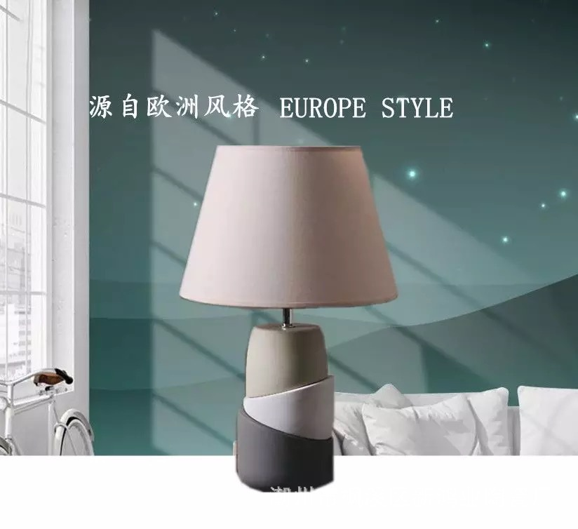 TUDA 28X46cm Free Shipping Table Lamp For Bedroom Bedside Originality Fashion American Style Decoration Ceramic Table Lamp E27 tuda 2017 now ceramic table lamp chinese wedding room bedroom bedside lamp bedside lamp simple modern ceramic decoration lamp