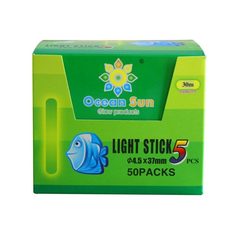 Glow Sticks 100 Pcs 30M visibility Chemical Fishing Light Fluorescent Stick