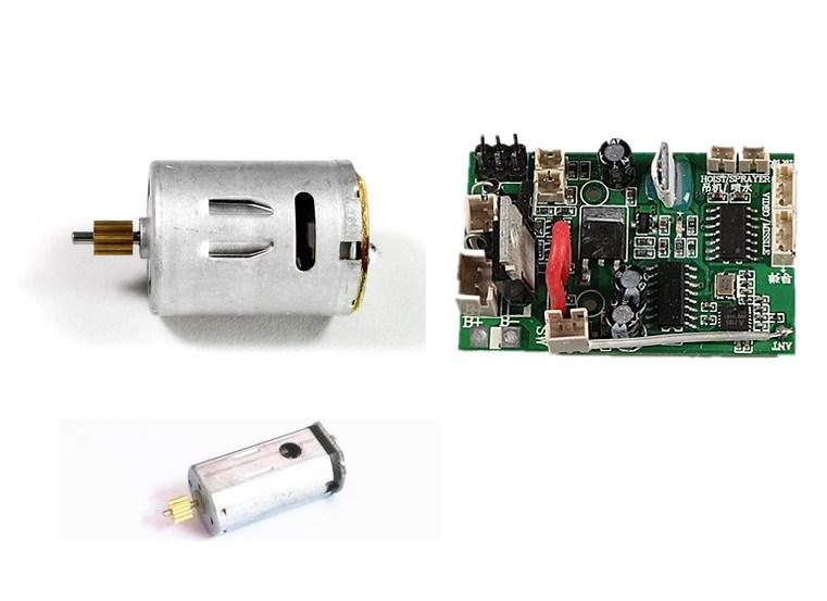все цены на V912 2.4G RC helicopter spare parts tail motor +main motor +2.4G receiver 3pcs/lot Free shipping онлайн
