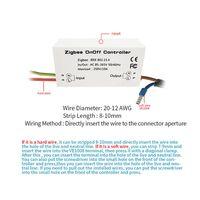 Zigbee вкл/выкл управление Лер умный переключатель приложение дистанционное управление Умный дом модуль AC85-265V 10A