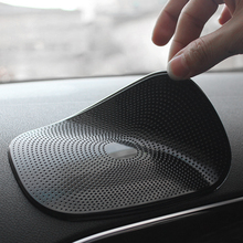 Alfombrilla antideslizante para coche, soporte para teléfono de PU, almohadilla adhesiva para salpicadero Interior de automóvil, cojín antideslizante para GPS, moneda para teléfono móvil de 15*10,5 cm