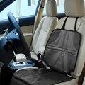 ONEVER Protetor de Criança ou de Carro Do Bebê Do Assento de Carro de Couro de Luxo Tampa de assento Fácil de Limpar Protetor de Assento de Segurança Anti Slip Universal preto