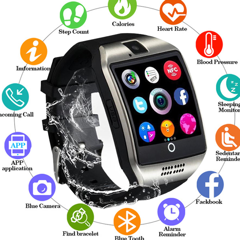 New Arrival Smart Watch with Camera Touch Screen Support SIM TF Card Bluetooth Smartwatch for iPhone Xiaomi Android Phone PK X6New Arrival Smart Watch with Camera Touch Screen Support SIM TF Card Bluetooth Smartwatch for iPhone Xiaomi Android Phone PK X6
