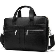 Мужские сумки на ремне, кожаные мужские портфели для ноутбука, деловые портфели для мужчин, сумка-мессенджер из натуральной кожи
