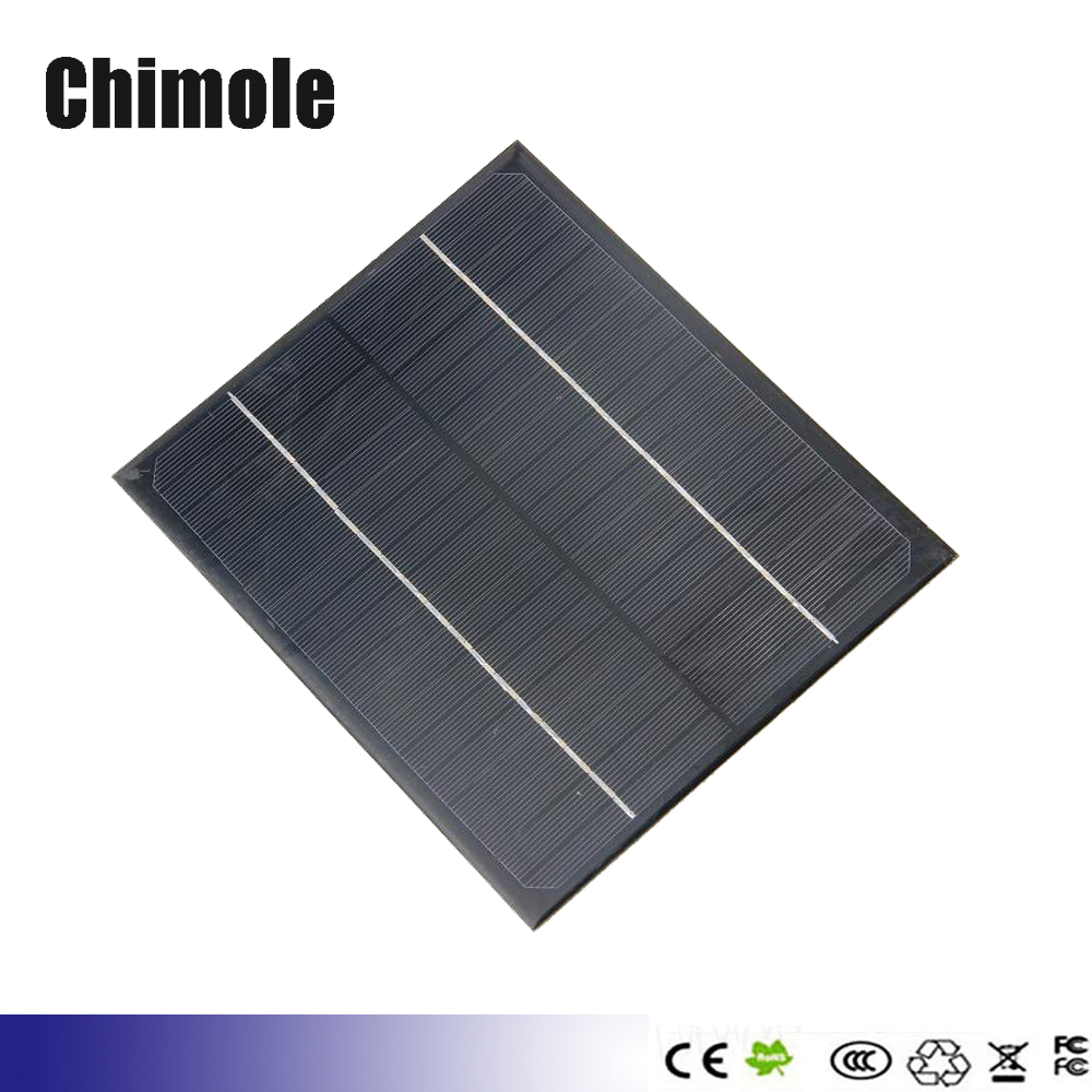 5pcs/lot <font><b>5W</b></font> 18V Polycrystalline <font><b>Solar</b></font> <font><b>Panel</b></font> <font><b>Solar</b></font> Cell <font><b>Solar</b></font> Module <font><b>Solar</b></font> Charger For <font><b>12V</b></font> Battery Charger image