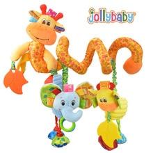 Heißer Verkauf schöne Säuglingsspielzeug Babykrippe dreht sich um den Bett Kinderwagen hängen Entwicklung Spielzeug Rassel Mobile Beißring