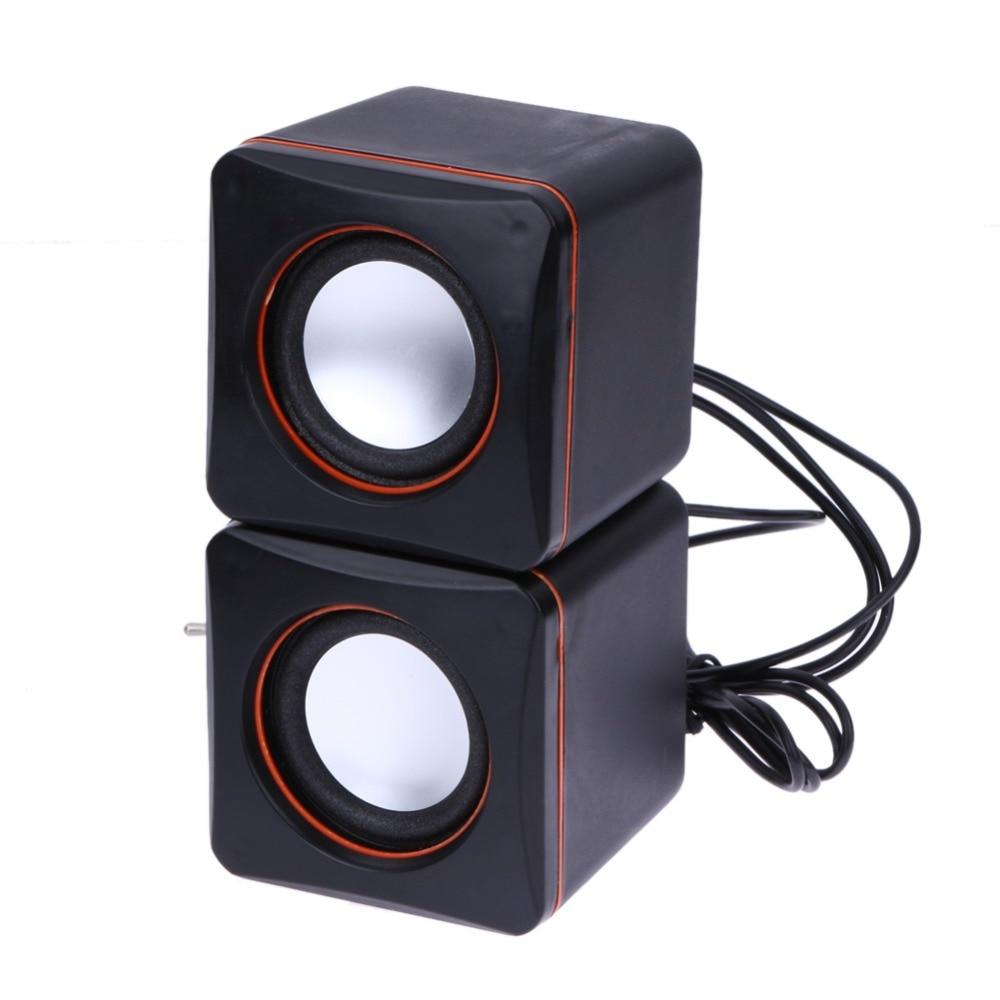 font b USB b font DC 5V 3 5mm Audio Interface Stereo Mini PC Speaker