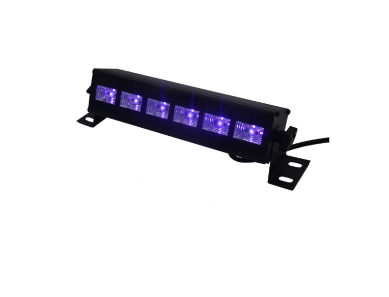 10X Rasha New Arrival 18W 6*3W UV LED Wall Washer Light LED Wall Light DJ Party Light Stage Disco Pixel UV Light For Xmas Event