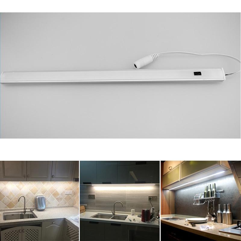 12V Motion Sensor LED Under Cabinet Light LEDs Strip Kitchen Lights Bathroom Lamp In The Closet Wardrobe Lamps Cupboard Lighting